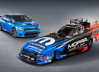 Mopar and Dodge SRT Debut New Dodge Charger SRT Hellcat NHRA Funny Car