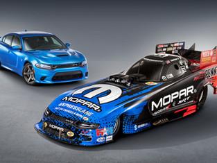 Mopar and Dodge SRT Debut New Dodge Charger SRT Hellcat NHRA Funny Car