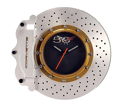50th Anniversary Corvette Wall Clock