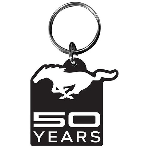 Ford Mustang 50 Years Keychain
