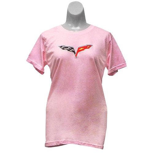 C6 Corvette Ladies T-Shirt