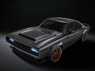 """Prepare To Have Your Mind Blown: Enter The 1000hp Hellephant Powered 1968 Dodge """"Super Charger"""" Conc"""
