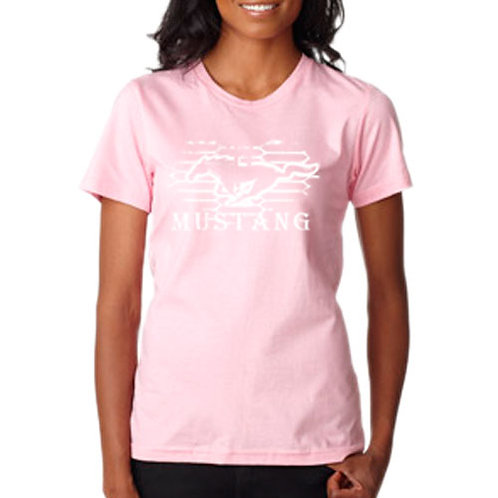 Ladies Ford Mustang T-Shirt