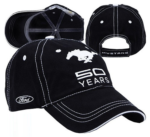 Ford Mustang 50 Years Hat