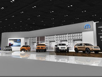 2014 North American International Auto Show features the largest Mopar exhibit ever displayed