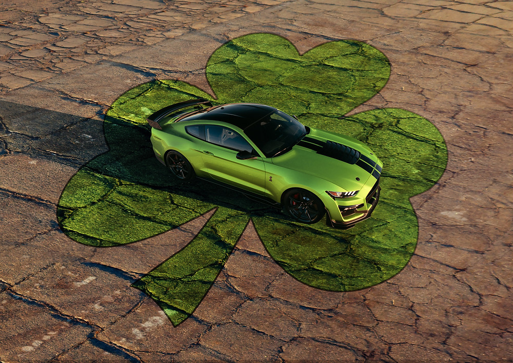 2020 Mustang Shelby GT500 in Grabber Lime