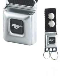 Ford Mustang Buckle Keychain