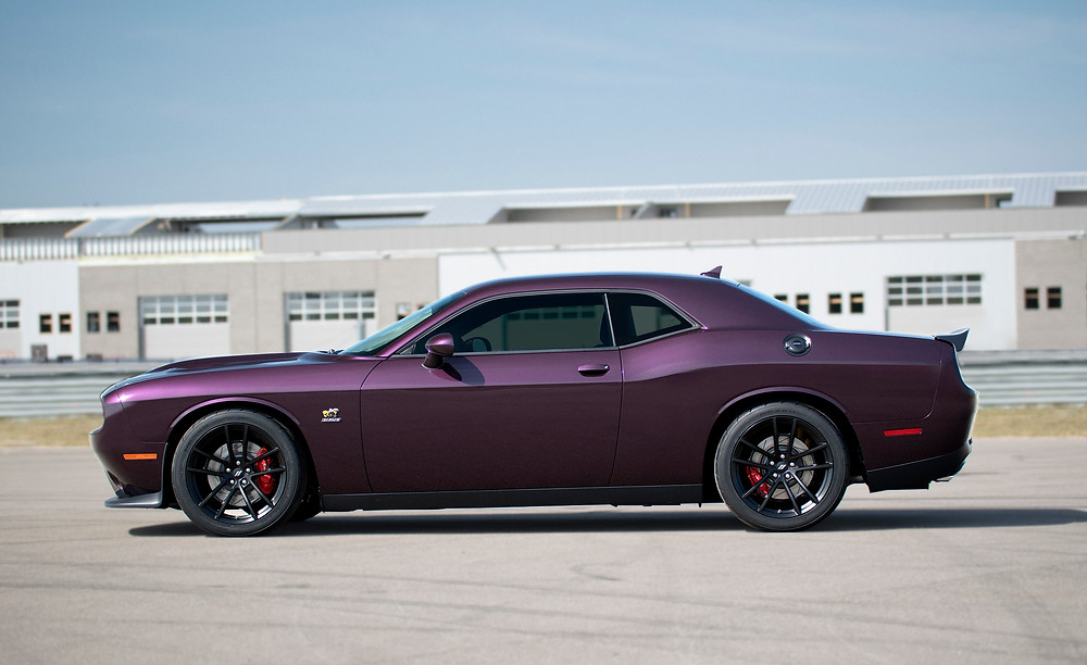 "2019 Dodge Challenger RT Scat Pack 1320 in ""Black Eye"" paint"