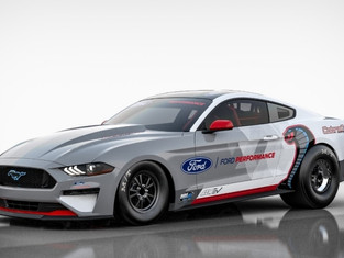 Ford Performance Reveals All-Electric Mustang Cobra Jet 1400 Prototype