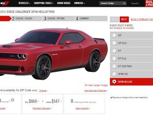 BREAKING NEWS: 2015 Dodge Challenger Build & Price Live