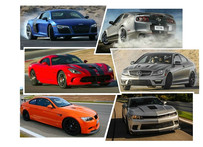 ARTICLES: American Muscle Takes On German Precision