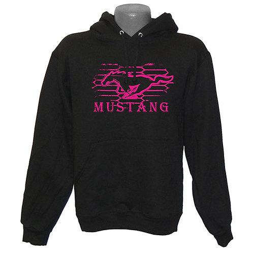 Ladies Ford Mustang Hoodie