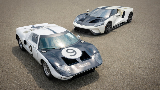 Limited Edition Ford GT Celebrates 1964 Prototypes