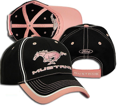 Ladies Ford Mustang Pony Hat