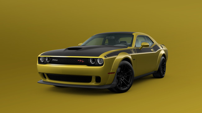 Good As Gold: Gold Rush Is Back on Select 2021 Challenger Models