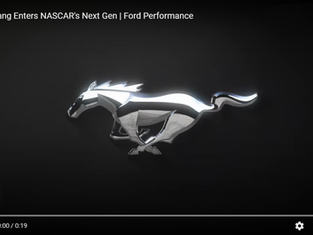 Ford Performance Teases All-New NASCAR Next Gen Mustang