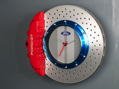 Ford GT Brake Rotor & 8 Piston Caliper Wall Clock