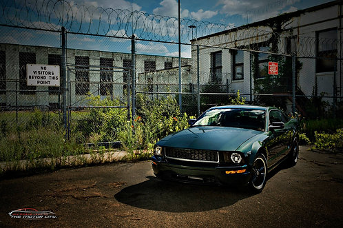 "MotorCaves© Metal Print Wall Art ""Bullitt"""