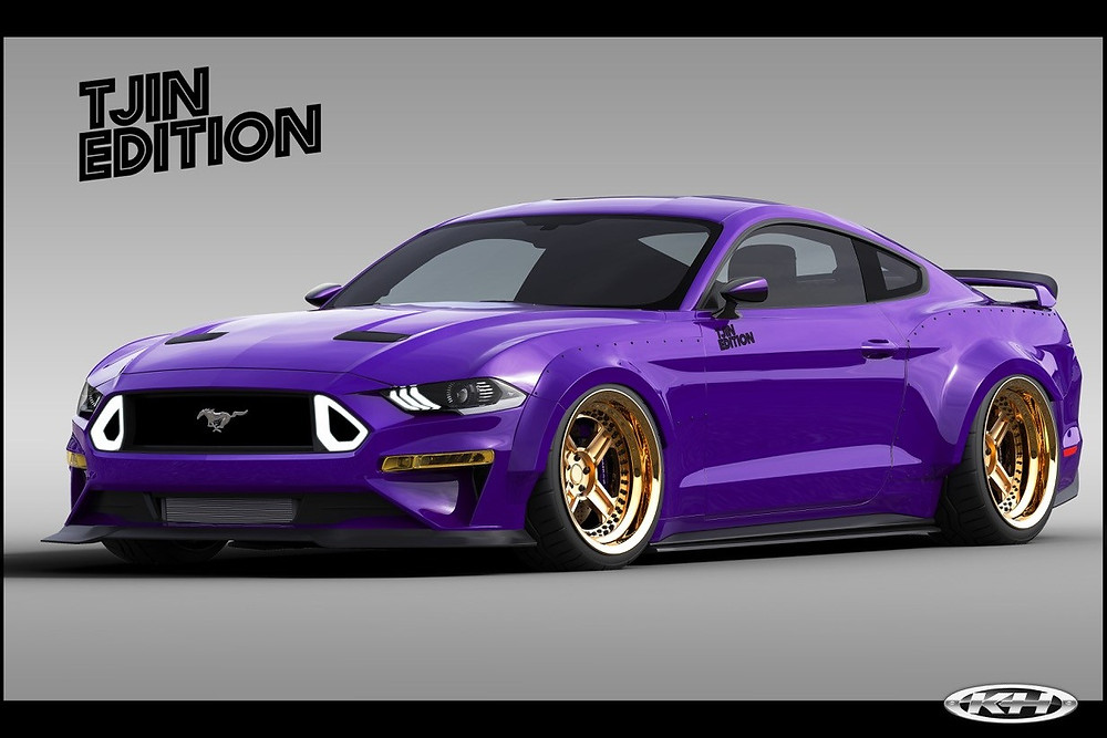 TJIN Edition EcoBoost Mustang