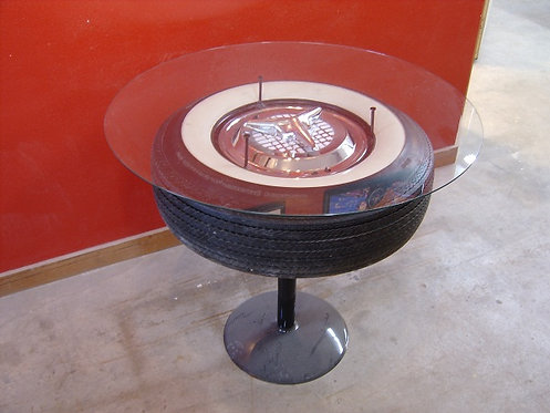 Wheel & Tire End Table