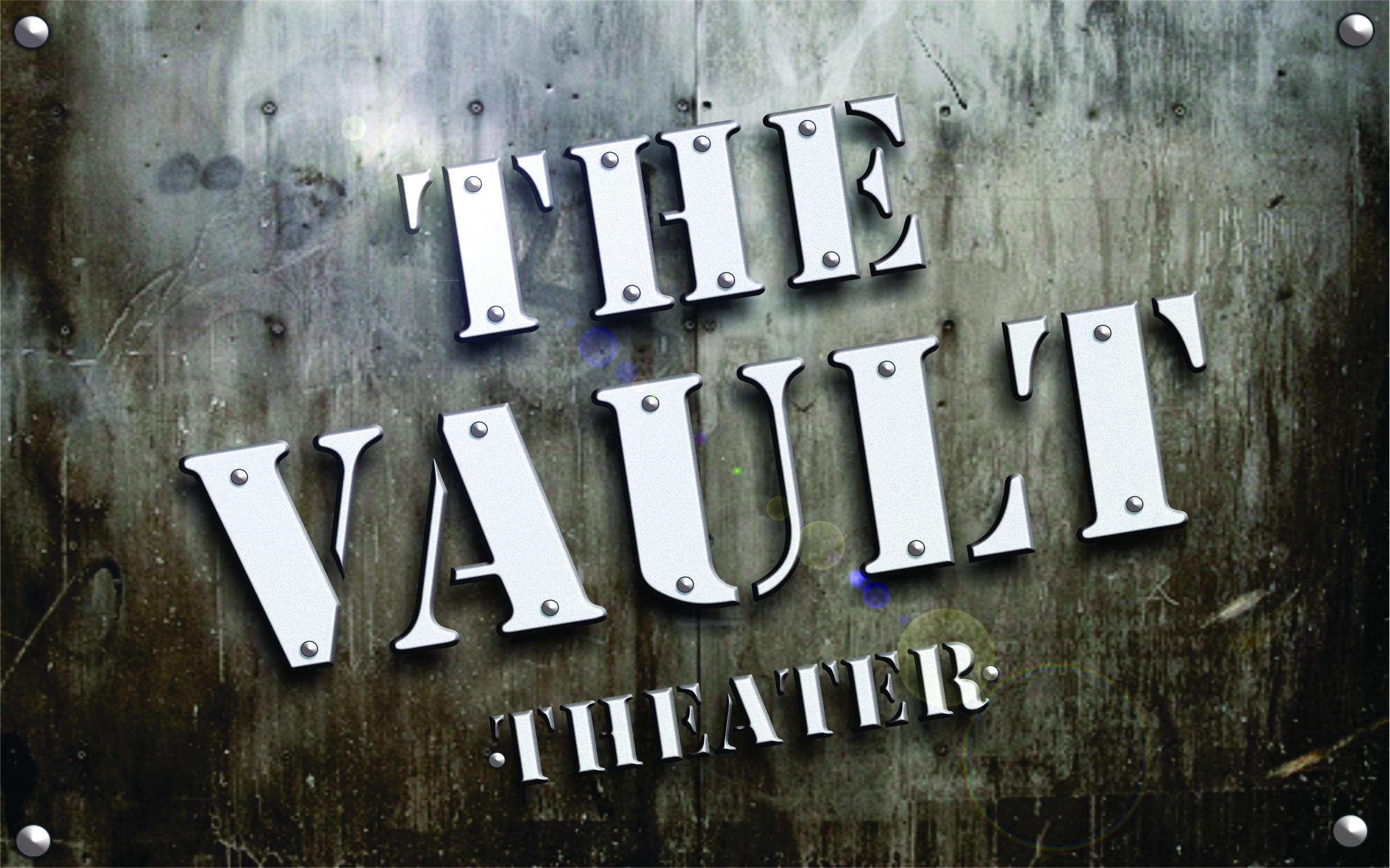 Vault Logo w background flat