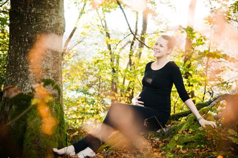 Portrett, gravidfoto, med hår, sminke og styling etter dine ønsker.