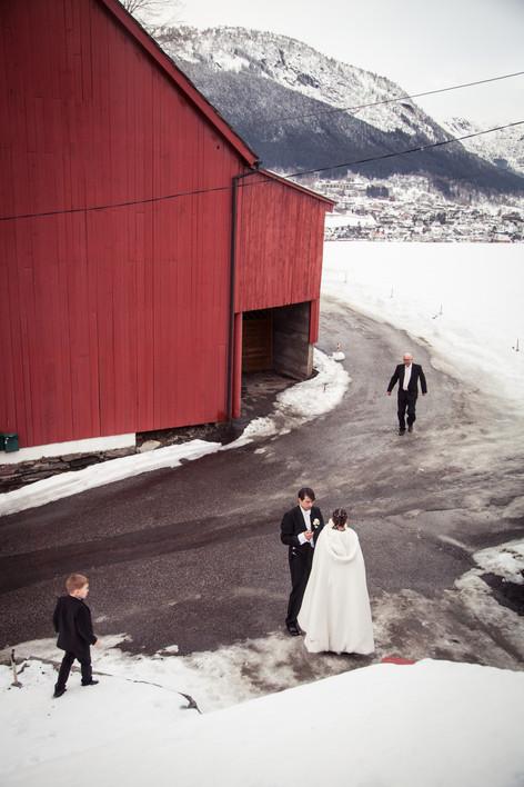 Bryllupsfotograf Hanna Rydstrøm tilbyr bryllupsbilder i Bergen