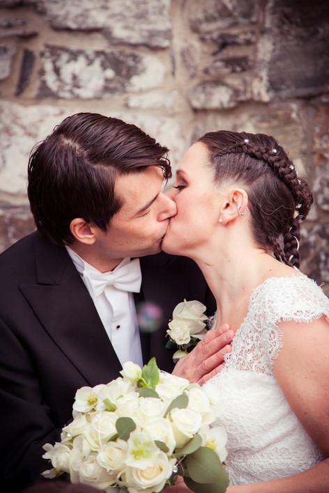 Portrett av brudepar i Norge