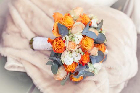 Florist for bryllup i Bergen.