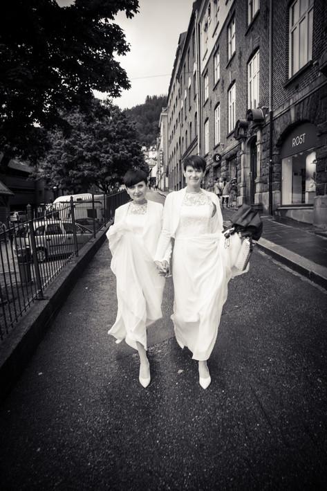Bryllupsfotograf i Bergen.