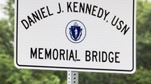 Father (Lt.) Daniel J. Kennedy, USN Memorial Bridge Dedicated