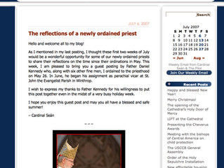CardinalSeansBlog.org: The reflections of a newly ordained priest