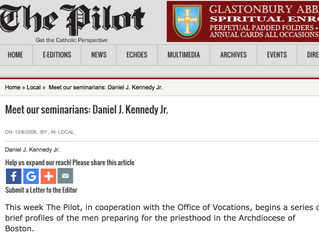 Meet our seminarians: Daniel J. Kennedy Jr.