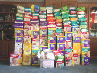 St. Alexander Collects 7708 Diapers