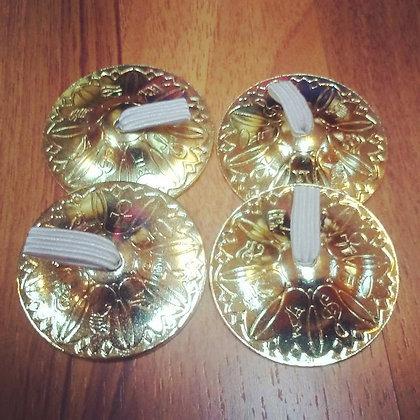 Crótalos profesionales de bronce