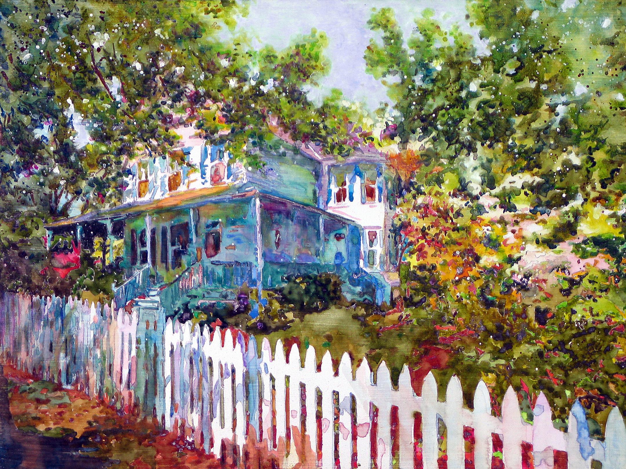 3947 Baltimore Street Painting