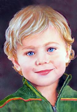 Portrait of JM III for Card