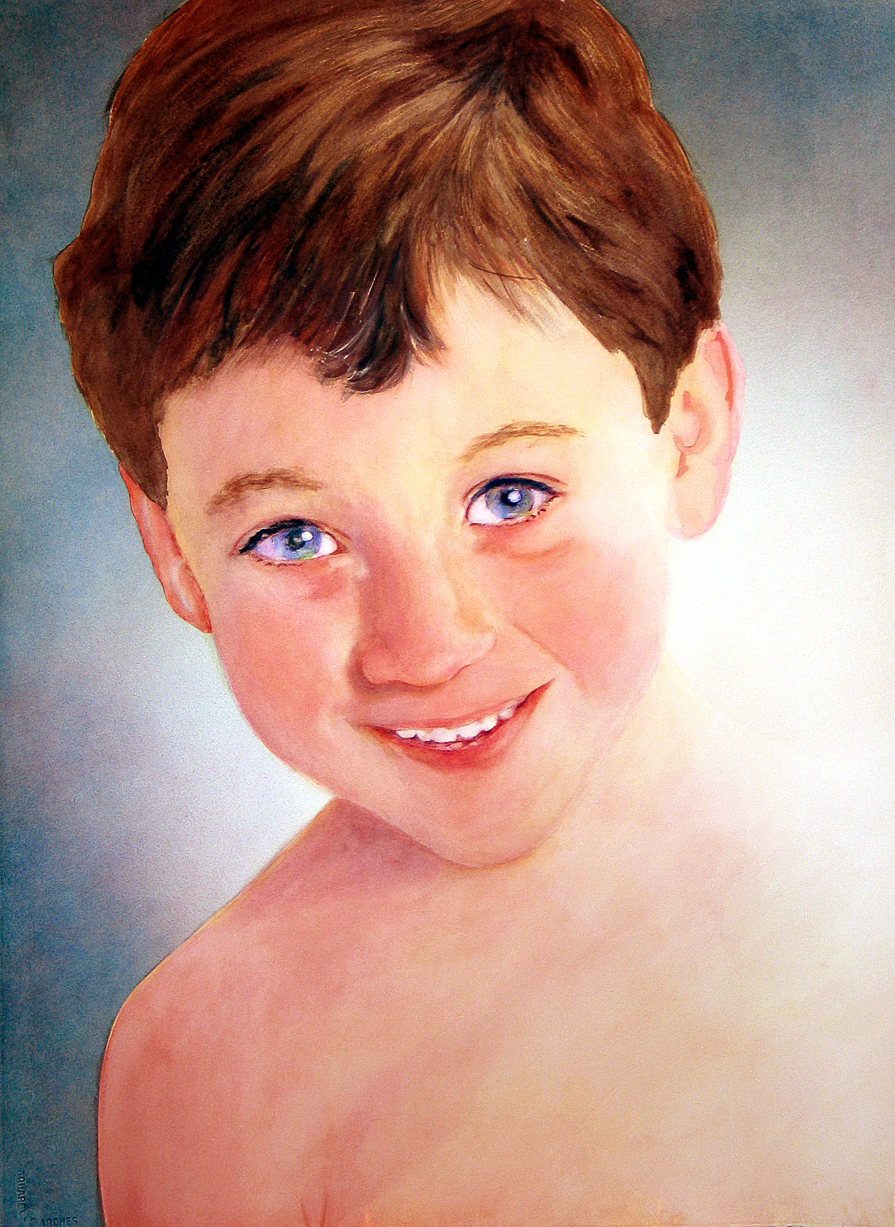 Portrait of Zachary for Photo