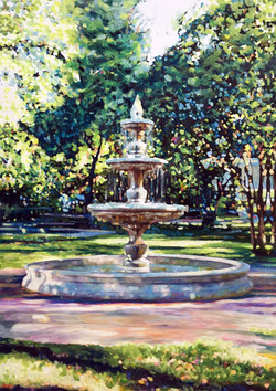 Fountain for website