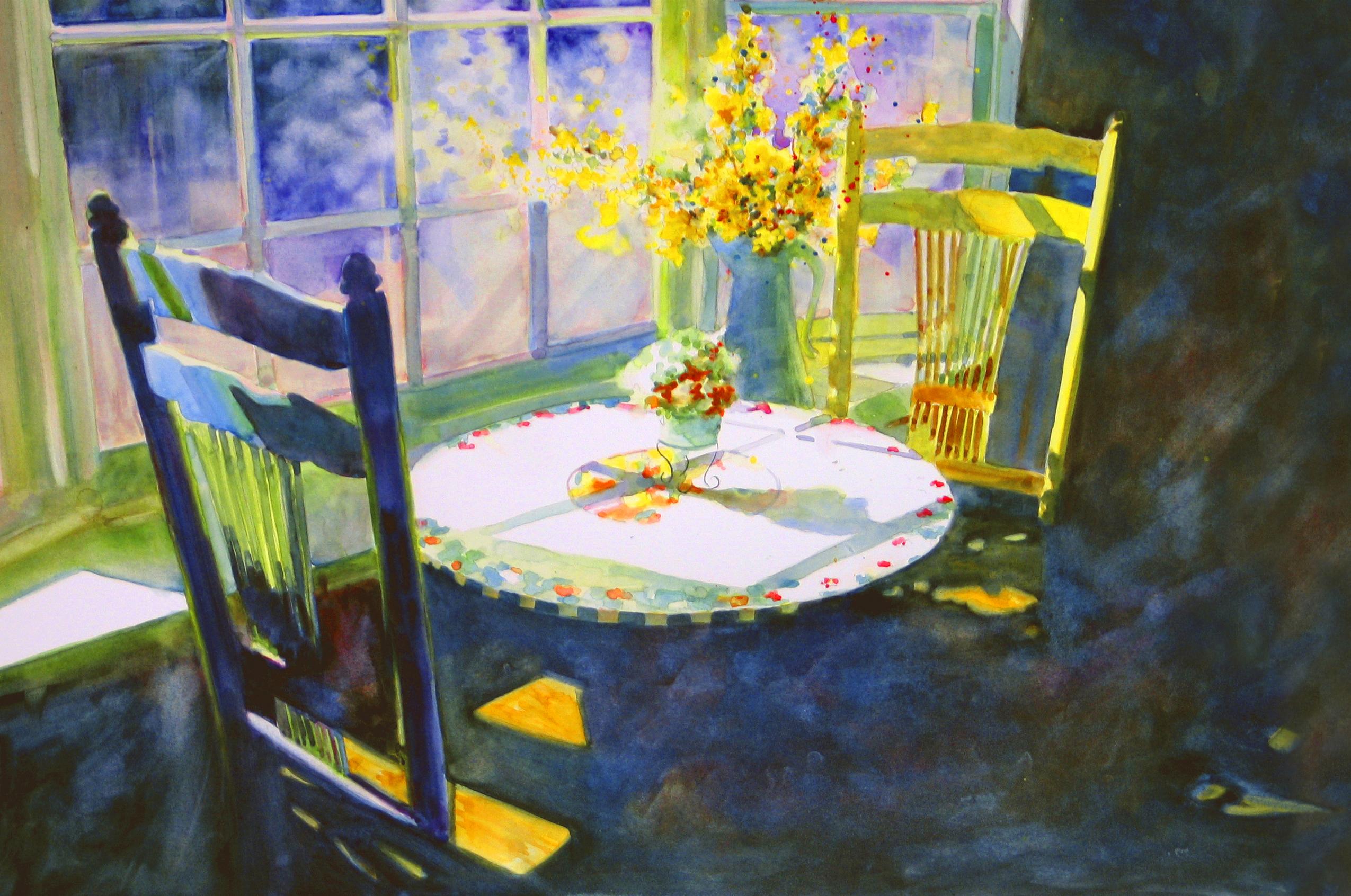 Moonlight at Monet's Card