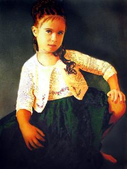 Molly in Green Dress II