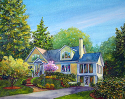 Finished Portrait of Trybus Estate'