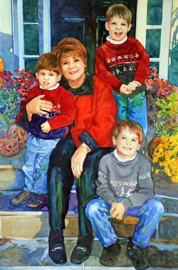 Elaine and Her Boys
