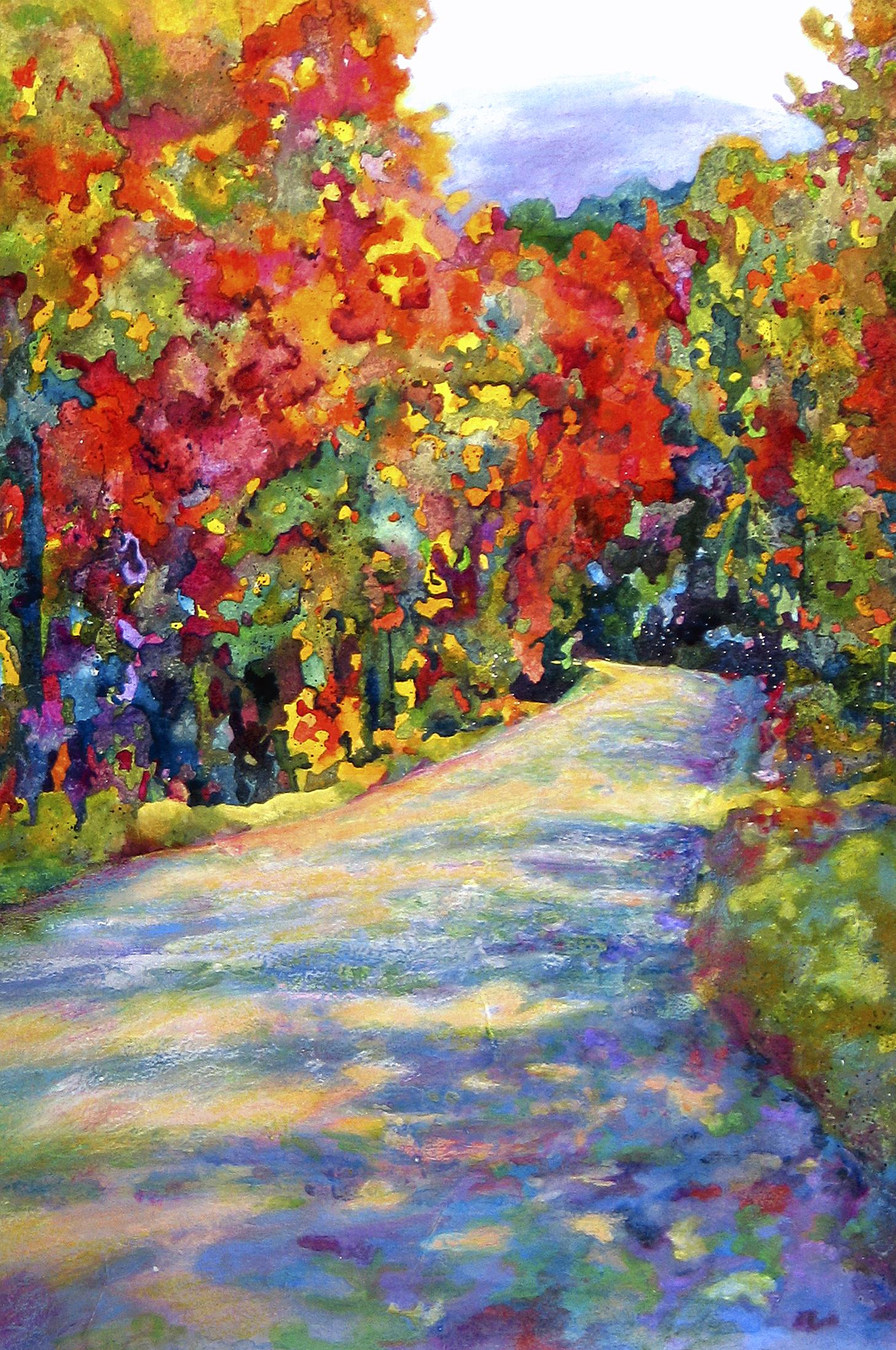 Autumn Falls For Card