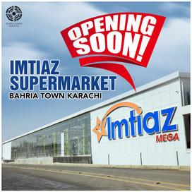Imtiaz Supermarket at Bahria Town Karachi 𝐎𝐏𝐄𝐍𝐈𝐍𝐆 𝐒𝐎𝐎𝐍