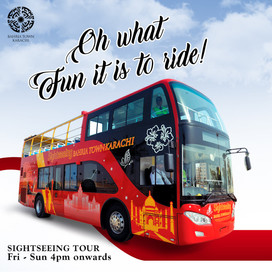 Bahria Sightseeing Tour!