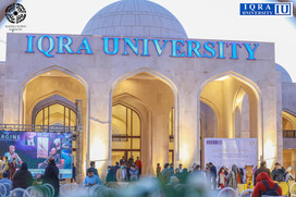 Pakistan's Top Business School 'Iqra University' Now in Bahria Town Karachi.