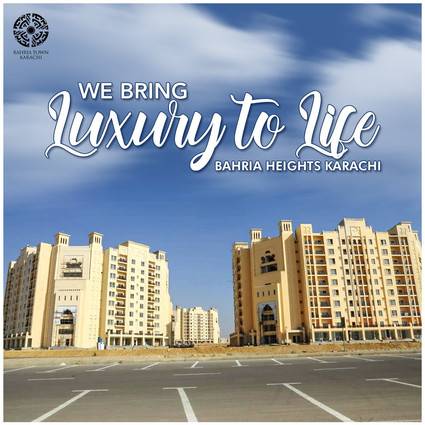 Bahria Heights, A Modern & Plush 2 Bed Luxury Apartments