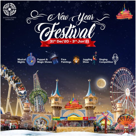 New Year Festival in Bahria Adventure Land Karachi