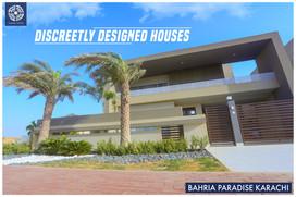 Bahria Paradise Karachi - Inspired by nature living & discreetly designed houses!